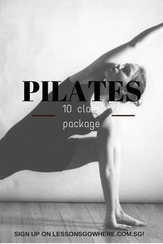 Planning to start a healthy lifestyle from Monday onwards? Sign up for our 10-class package Pilates session on http://lessonsgowhere.com.sg/fitness-classes/pilates-10-class-package! We believe you're NEVER too busy to learn! :)