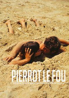 fleurishes:  Pierrot le Fou (1965)