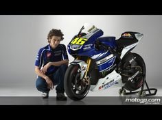 Valentino Rossi Yamaha Factory Racing 2013 launch
