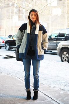 The Best Street Style from New York Fashion Week, Day 6: Annina Mislin Associate fashion editor, C Magazine