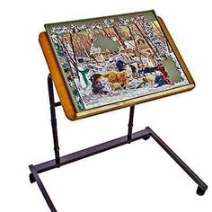 Jigsaw Puzzle Table Jig Table Easel Stand Adult Jigsaw Puzzles Home Improvement