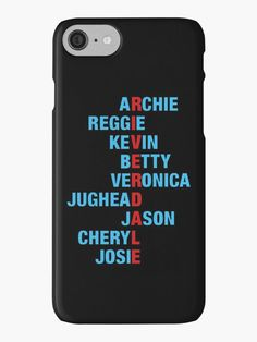 Schöne Dcniel Riverdale Kernpunkt iPhone Kernpunkt - diy telefonkasten - Celulares e Acessórios Iphone 7, Coque Iphone, Iphone Phone Cases, Iphone Case Covers, Lg Phone, Riverdale Merch, Riverdale Funny, Riverdale Cast, Riverdale Quiz