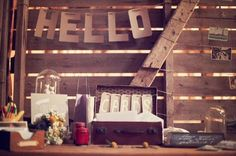 Kraft paper wedding ideas