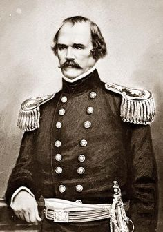 Albert Sidney Johnston, Confederate general mortally wounded at Shiloh.