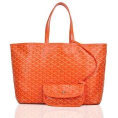 Sac Goyard St. Louis GY308 Orange 1.Marque  : goyard 2.Style  : Goyard St. Louis 3.couleurs :Orange 4.Matériel :PVC avec cuir 5.Taille: L40 x H30x W15 cm