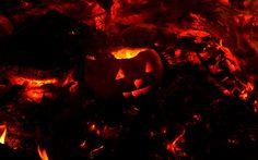 Halloween's burning