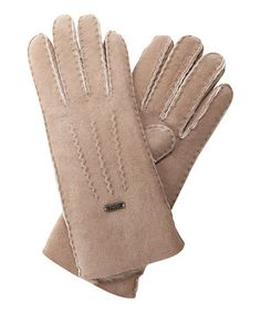 Take a look at this Mushroom Beech Forest Gloves by EMU Australia on #zulily today!