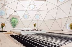 Book your next vacation at this geo dome in the Catskills.