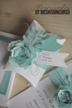 When a Confirmation is tinged with . Tiffany- Quando una Cresima si tinge di…Tiffany When a Confirmation is tinged with … Tiffany - Tiffany Wedding, Baby Wedding, Wedding Gifts, Elegant Gift Wrapping, Gift Wraping, 90th Birthday Parties, Diy Gift Box, Wedding Favor Boxes, Christmas Gift Box