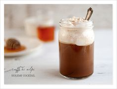 Coffee holiday drink idea-Good morning, please add Bourbon and honey to my coffee :)