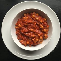There's something comforting about beans (or legumes I guess) for breakfast and these vegan smoky tomato chickpeas are miles better than your average tin.