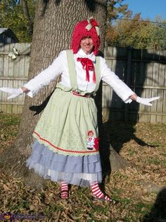 Raggedy Ann and Andy - Halloween Costume Contest via @costume_works