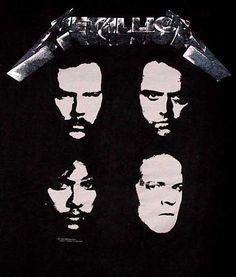 Metallica Black Album T-Shirts