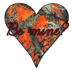 If someone gave me a camo valentine I think I would die. I'd just die. Country Strong, Country Men, Country Life, Country Girls, Country Style, Love My Man, Love My Husband, Camo Guns, Redneck Humor