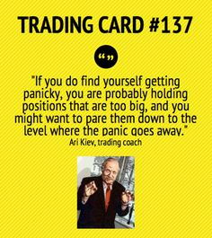 Trading Card #137: If You Find Yourself in Panic by Ari Kiev