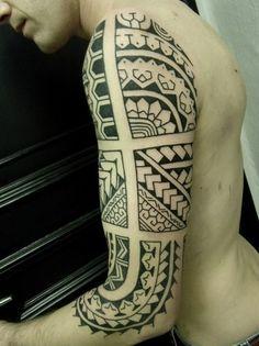 Samoan Inspired Tattoo