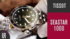"""Die Tissot Seastar 1000 – Powermatic 80 ist eine sehr schöne Interpretation einer Taucheruhr. Für 690 € (abgl. 10% mit dem Gutscheincode """"Uhrenratgeber"""") könnt Ihr diese schöne Uhr hier kaufen:  * Hier findet Ihr alle aktuell laufenden Aktionen mit Chronoline:  * ▬▬▬... Rolex Watches, Accessories, Youtube, Fine Watches, Pre Owned Watches, Diving Watch, Deutsch, Youtube Movies"""