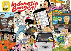 Mice Cartoon, 2014: Indonesia Banget!