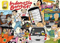 Mice Cartoon, 2014: Indonesia Banget!