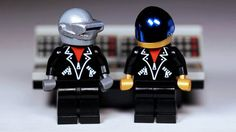 Today's Music News: A Daft Punk Lego set? It could happen.