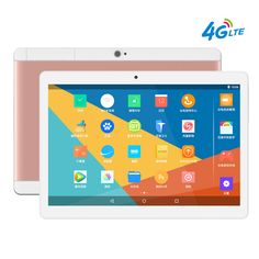 2017 New 4G LTE 10 inch Tablet Android 6.0 PC Pad 1920x1200 IPS Quad Core 2GB RAM 16GB ROM Dual SIM Card FDD Phone Call Phablet