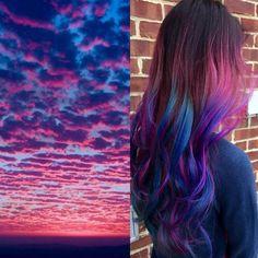Sunset Hair - Haarfarben, wie der schönste Sonnenuntergang