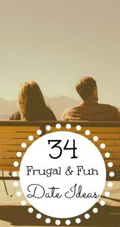 34 frugal and fun date ideas for both indoors and outdoors to inspire your next date night or day! You don't have to spend a fortune to have some great quality time with your significant other. There are plenty of things you can do for cheap or even free!