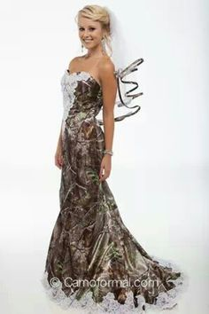 Another Camo Wedding Dress