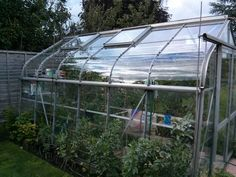 Amazing clear acrylic greenhouse panels!