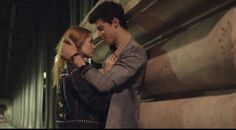Ellie Bamber and Shawn Mendes in Nothing Holding Me Back