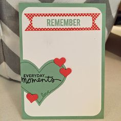 Project Life card made with #momentslikethese #Projectlife