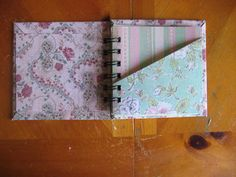#Cute #minibook project made with #wirebindings http://www.binding101.com/wire-o-binding-spines