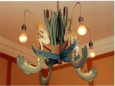 Sir Edwin Lutyens designed this chandelier for the royal nursery...