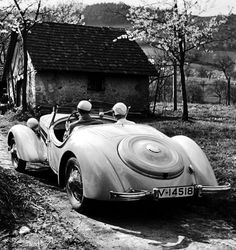 Audi Front Special Roadster, 1935, Photo by Paul Wolff, and Alfred Tritschler