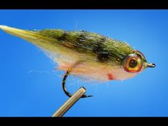 http://www.flyfishfood.com: Fun little minnow imitation. This is the bluegill version. Can be tied in a variety of colors