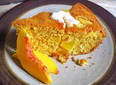 A Taste of Summer: Peach Cornbread #Recipe (http://blog.hgtv.com/design/2014/07/24/peach-cornbread-recipe/?soc=pinterest)