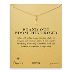 stand out from the crowd giraffe necklace, gold dipped -PERFECTION!!!
