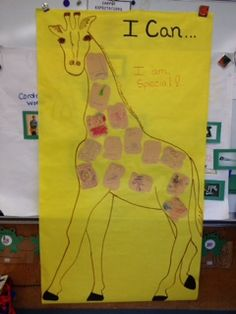 Giraffes Can't Dance poster activity, 2 of 4.