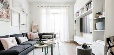 Casa en estilo nórdico con tonos pastel - http://www.decoora.com/casa-estilo-nordico-tonos-pastel/