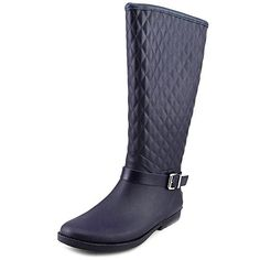 Guess Womens Lulue Rain Boot Navy 6 M US *** Read more at the image link. (This is an affiliate link)