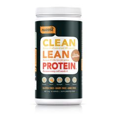 Clean Lean Protein is protein in its purest form - natural and free from all common allergens. No gluten, dairy or soy GMOs or artificial preservatives. It's 100% vegetable, low in carbohydrates and high in digestible protein. Clean Lean Protein is the ideal protein supplement to support an active lifestyle and good nutrition. Creamy Cappuccino 1KG now ON SALE - Expiry 30/4/17