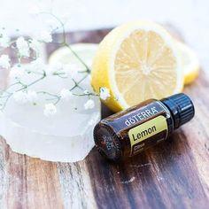 Spotlight: Lemon Essential Oil Uses Lemon Essential Oils, Essential Oil Uses, Pitcher Of Water, How To Clean Crystals, Lemon Oil, Fractionated Coconut Oil, Melaleuca, Washing Clothes, Spray Bottle