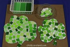 For Cards- 10 Easy St. Patrick's Day Crafts for Kids