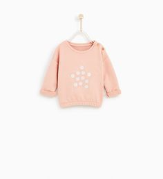 ZARA - COLLECTION AW/17 - EMBROIDERED SWEATSHIRT WITH APPLIQUÉS
