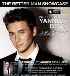 """The Better Man"" Yannick Bovy 803来马办showcase!"