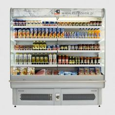 """ES System K SCORPION Integral Multideck Display is Electronic Controller, Manual Night Blind, Top Lighting, Metal Sides and Viewable Digital Thermometer. Night Blinds, Glass Fridge, Drink Display, Bakery Display, Gas And Electric, Digital Thermometer, Buisness, Scorpion, Purpose"