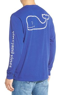 Vineyard Vines Whale Graphic Long Sleeve T-Shirt available at #Nordstrom