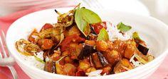 Aubergine Curry Recipe  - Sainsbury's