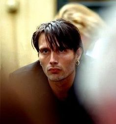 """Photo of young Mads. I always thought I preferred him """"aged"""" but this photo might just change my mind."""