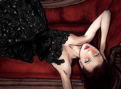 Lady Lace 8inx11in Art Print  danny roberts